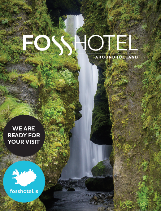 Fosshotel brochure 2016. Hotels all around Iceland and in Reykjavik