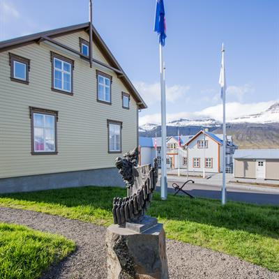 The Doctor's house - Reception | The french hospital | Fosshotel Eastfjords